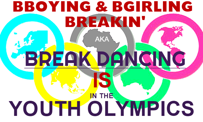 break dancing in youth olympics